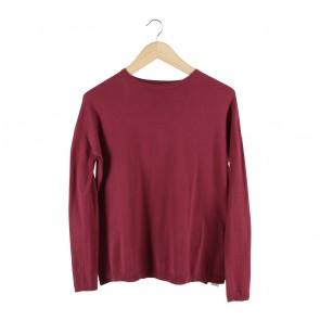 Zara Maroon Sweater