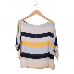 Zara Multi Colour Stripes Blouse