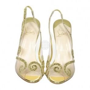 Christian Louboutin Gold Sandals