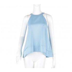 Cloth Inc Blue Sleeveless