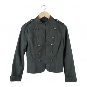 Forever 21 Dark Green Jaket