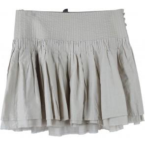 Mango Cream Mini Skirt