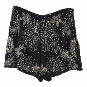 Miss Selfridge Black Sequins Pants