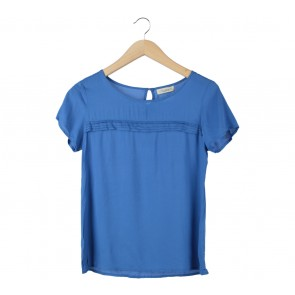 Pull & Bear Blue Blouse