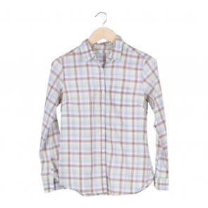 UNIQLO Multi Colour Basic Plaid Shirt