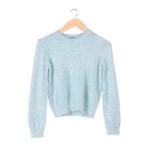 Topshop Blue Sweater