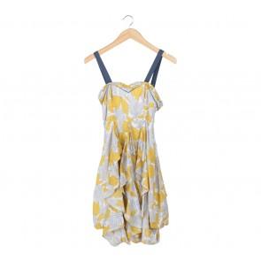 (X)SML Multi Colour Floral Mini Dress