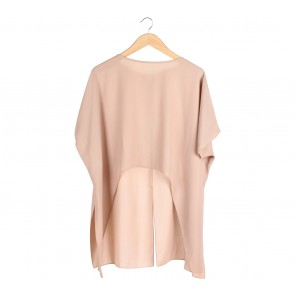 Shop At Velvet Cream Asymmetric Blouse