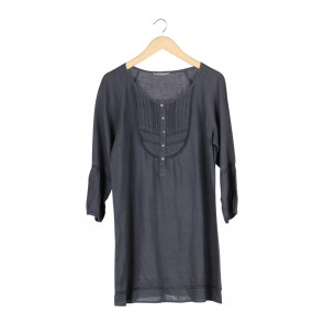 Marks & Spencer Dark Blue Tunic Blouse