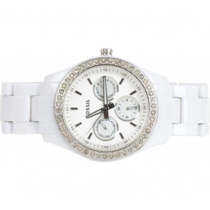 Fossil White Watch