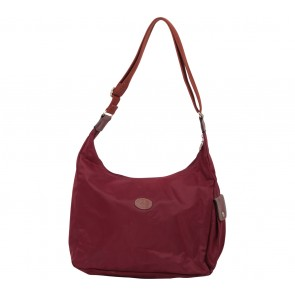 Longchamp Maroon Le Pliage Shoulder Bag