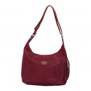 Longchamp Maroon Le Pliage Shoulder Bag