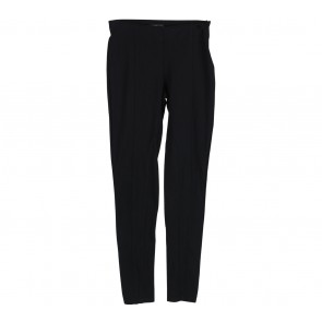 Mango Black High Waisted Pants