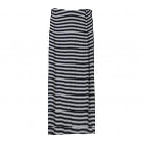 Dorothy Perkins Black And White Striped Slit Skirt