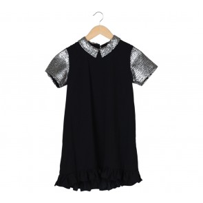 Miroir Black Midi Dress