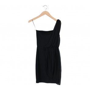 Stradivarius Black Mini Dress