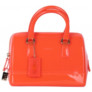 Furla Orange Mini Candy Handbag