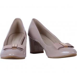 Marie Claire Peach Heels