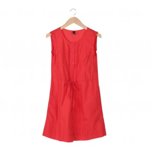 GAP Red Midi Dress