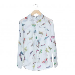 N.Y.L.A White Butterfly Shirt