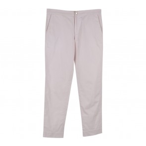 Argyle Oxford Pink Basic Trousers Pants