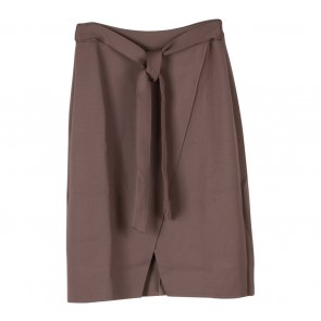 Le Bijou Brown Midi Skirt
