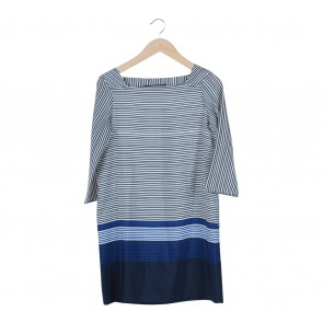 Zara Multi Colour Striped Mini Dress