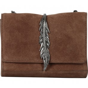 Zara Brown Leather Sling Bag