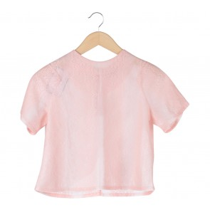 Chic Simple Pink Blouse