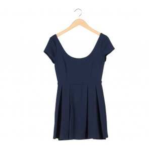 Forever New Dark Blue Mini Dress