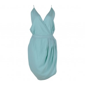Status Quo Light Green Sleeveless Mini Dress