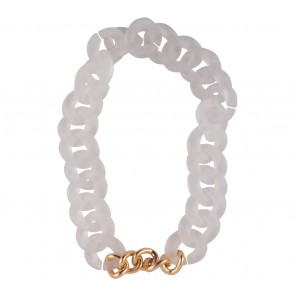Chain Reaction White Jewellery