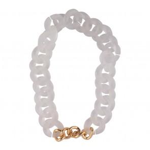 Chain Reaction White Jewellery