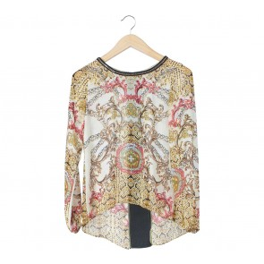 Odiva Multi Colour Patterned Blouse