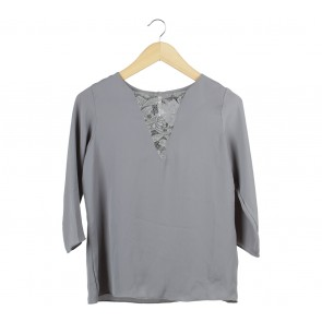 Shop At Velvet Dark Grey Blouse