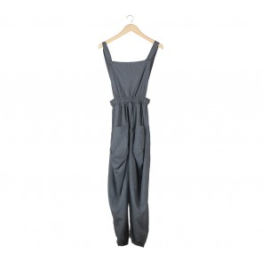 Covering Story Grey Jumpsuit