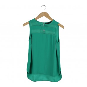 Zara Green Sleeveless