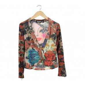 Desigual Multi Colour Outerwear