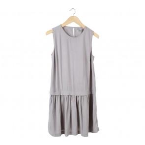 UNIQLO Grey Sleeveless Mini Dress