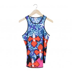 Peter Pilotto Multi Colour Floral Sleeveless
