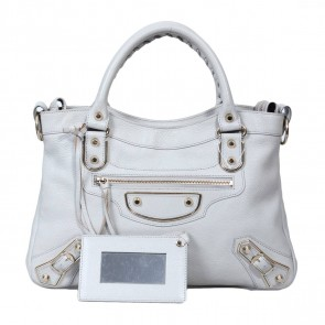 Balenciaga Light Grey Tote Bag