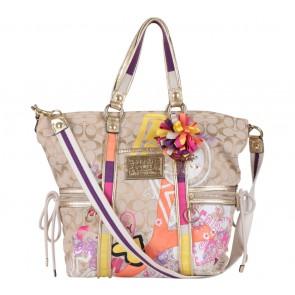 Coach Multi Colour Poppy Shoulder Bag