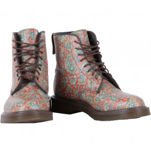 DRMARTENS Multi Colour Jeffrey Paisley Boots