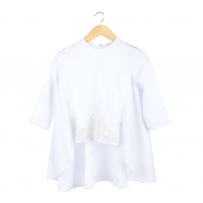 Day and Night White Blouse