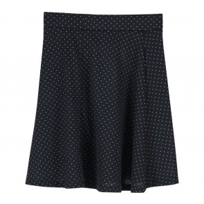 H&M Black Dotted Mini Skirt