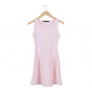Zara Pink Flare Mini Dress
