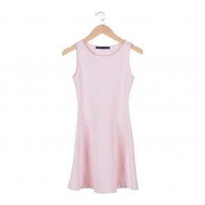 Zara Pink Flare Mini Dress
