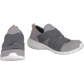 Hush Puppies Grey Slip On Sneakers