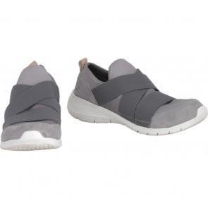 Hush Puppies Grey Slip On Sneakers