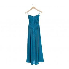 Geren Ford Blue Sleeveless Long Dress